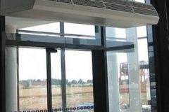 6ft Air Curtain installation