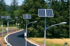 Solar street light Installations